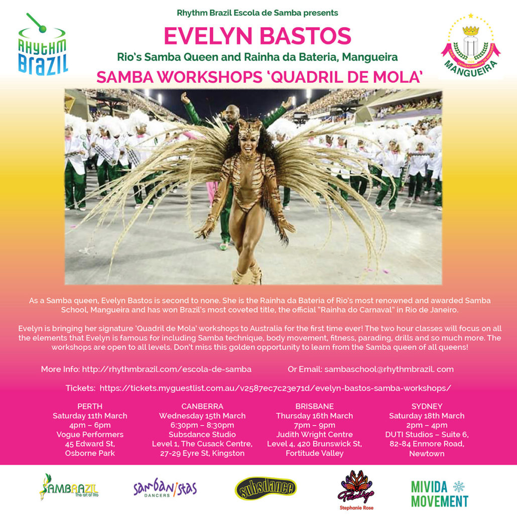 Evelyn Bastos Workshops